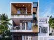Thiết kế kiến trúc nhà phố mặt tiền 6,5m