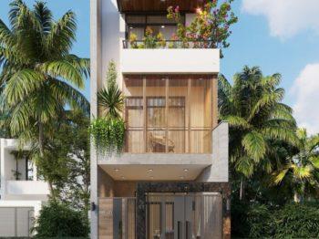 Thiết kế nhà phố hướng Tây