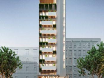 Thiết kế kiến trúc khách sạn 11 tầng