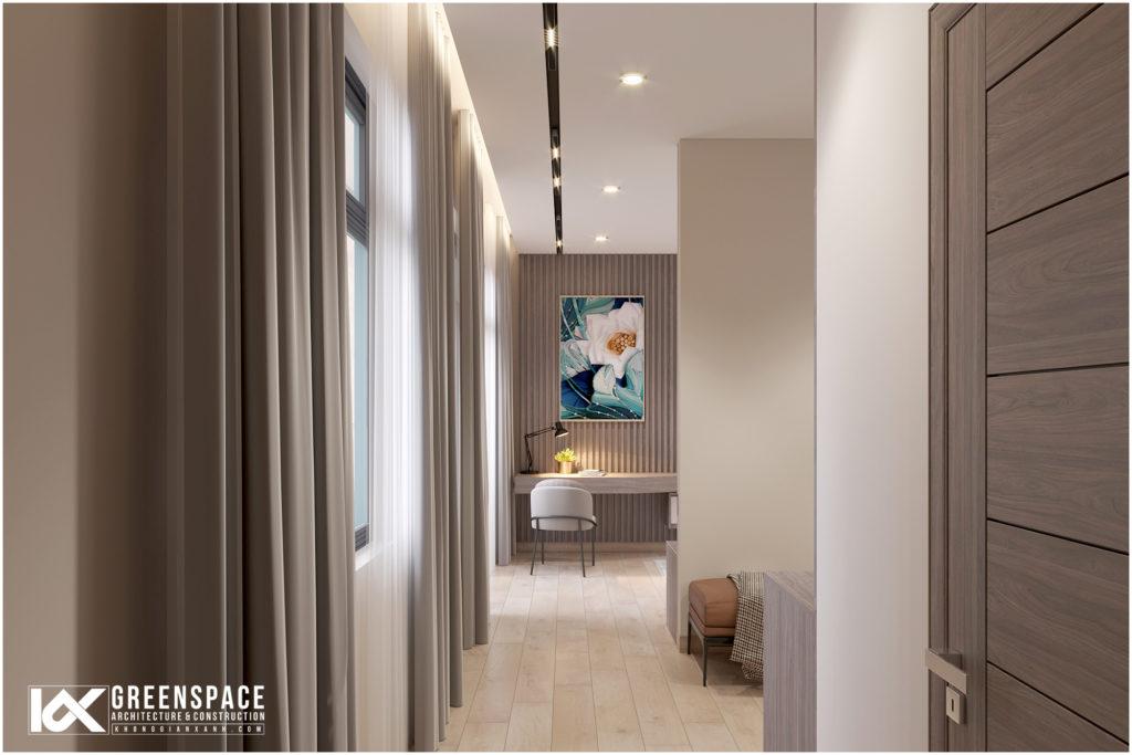 Thiết kế cải tạo nội thất nhà phố 3 tầng – phong cách hiện đại tinh tế