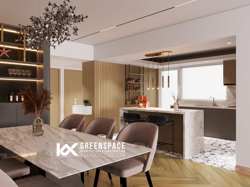 Thiết kế nội thất chung cư Saigon Pearl – TP Hồ Chí Minh