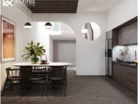 Thiết kế cải tạo nội thất nhà phố 4 tầng
