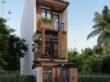 Thiết kế nhà phố 4 tầng TP.HCM