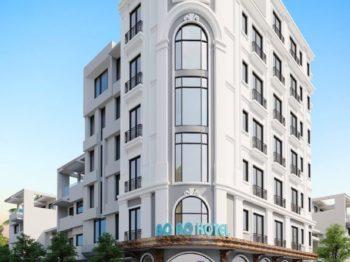 Cải tạo khách sạn 7 tầng Vũng Tàu